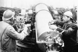 Militaria WW1 - Pièce De Marine De 164,7 Mm Au Bois De Méréaucourt - Somme - 1914-18