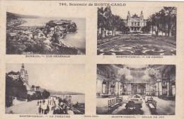 Monaco Vue Generale Casino Le Theatre & Salle De Jeu - Casino