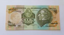 URUGUAY 100 NUEVOS PESOS - Uruguay
