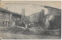 CPA Guerre 1914 1918 , 55 Mécrin - Oorlog 1914-18