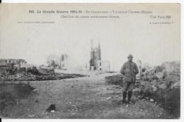 CPA Guerre 1914 1918 , 51 Ville Sur Tourbe - Oorlog 1914-18