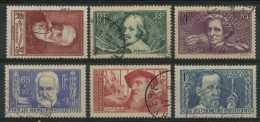 France (1938) N 380 A 385 (o) - France