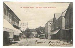 CPA 90 VALDOIE Arrêt Des Tramways - Valdoie