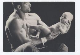 HOMME BEBE GALLERY CARD  --NON ÉCRITE  -RECTO VERSO **C90 - Photographie