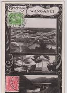 LB 14 : Nouvelle  Zélande :  Greetings  WANGANUI - Nouvelle-Zélande