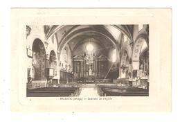 CPA 09 BESLESTA Intérieur De L'Eglise Vue Peu Commune - Francia