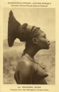CPA ( CONGO BELGE ) Femme D Un Chef Mangbetu     (B BUR) - Kongo - Brazzaville