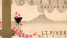 75Ri   Petit Calendrier Parfumé 1932 Parfum Pompeta LT. Piver Paris - Perfume Cards