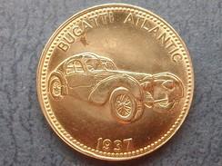 Jeton  Collection Shell Voiture BUGATTI ATLANTIC 1937 - Weltberühmte Sportwagen - Francia