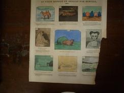 1855 Le SALON Dépeint Et Dessiné Par Bertall;La Bourse Des Biftecks;La LITANIE ROSE; Les Diseurs De RIEN; Etc - Newspapers