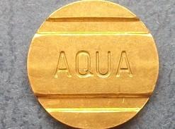 Jeton De Société Aqua - Professionnels/De Société