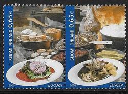 Finlande 2005 N°1715/1716 Neufs En Paire Horizontale 1716A . Europa Gastronomie