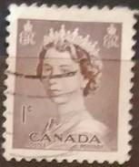 CANADA 1953 Coronacion De Isabel II. USADO - USED.