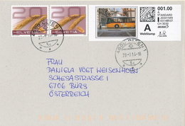 4500 Olten Korn Weizen Webstamp Ptt Omnibus Umwelt      (R096) - Switzerland