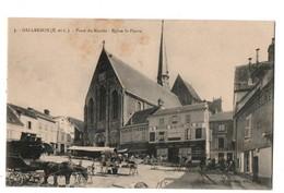 28 - GALLARDON . Place Du Marché . Eglise Saint-Pierre - Réf. N°2060 - - Autres Communes