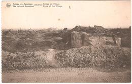 Mesen - Ruins / Ruines De Messines - 1914-18 - Ruines Du Village - Ruins Of The Village - Verstuurd 1919 - Mesen