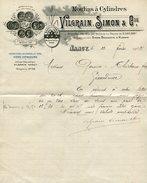 Zierbriefbogen / 1902 / VILGRAIN, SIMON U. CIE Nancy (10019) - Historische Documenten