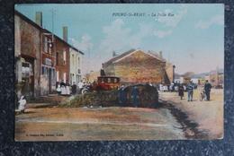 875/ POURU-St-REMY - La Petite Rue - France