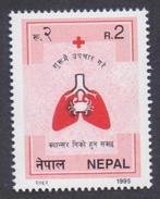 NEPAL 1995 MNH - Fight Against Cancer, Health, 1v - Enfermedades