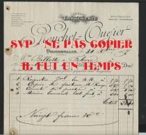 70 FOUGEROLLES - REUCHET OUGIER - Imprimerie - 1907 - France