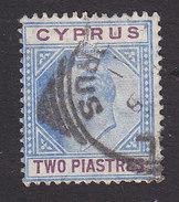 Cyprus, Scott #53, Used, King Edward VII, Issued 1903 - Cyprus (...-1960)