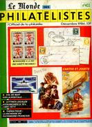 Le Monde Des Philatelistes N.403,Grèce JO 1896 Expertise,lettre Simple Locale,publicité,distributeur FRAMA,Marianne Nef - Français (àpd. 1941)