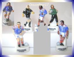 Foot ,Fedération Française Football .. Lot De 7 Fèves.. Ref. AFF :19-1998 ..( 0031) - Sports