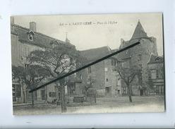 CPA Rétrécit - St Saint Céré - Place De L'église - Saint-Céré