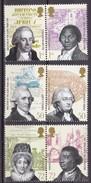 GB 2007, 2508/13,  Slave Trade, MNH ** - 1952-.... (Elisabetta II)