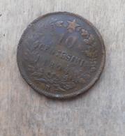 MONETA DEL REGNO D'ITALIA DI UMBERTO I° - 10 CENTESIMI DEL 1894 R - MONETA RARA  - - 1861-1946 : Regno
