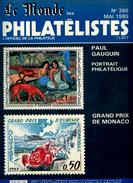 Le Monde Des Philatelistes N.386,1985,Gauguin,automobile Grand Prix Monaco,TD6,Cérès 25c,obl.meca Ter.fr Du Pacifique - Français (àpd. 1941)