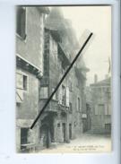 CPA -  Lot - 9 - St Saint Céré , Un Coin De La Rue De L'Ollier - Saint-Céré