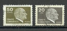 Turkey ; 1980 Regular Issue Stamps - 1921-... República