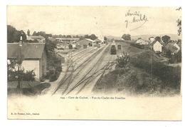 GUERET Dpt23 Gare De Guéret Vue Du Chalet Des Familles N°244 De 1904 - Guéret