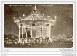 SOUTHEND-on-SEA - The Bandstand Illuminated - Southend, Westcliff & Leigh