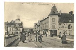 COMPIEGNE Dpt60 La Rue D'Amiens 1ère Vue N°203 1913 - Compiegne