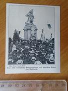 ZS73.13 Der Erste Französische Kriegerdenkmal  Auf Deutschem  Boden Bei Noisseville   Old Print  1908 - Documentos Históricos