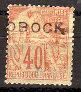 Obock 18 X Un Pli.