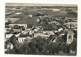 DAMPIERRE Dpt10 Vue Aérienne Sur L'Eglise Et Les Ecoles CPSM 10x15 De 1955 - France
