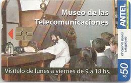 Uruguay - Antel - Museo De Telecomun. - TC 503a - 10.2008, 50.000ex, Used - Uruguay