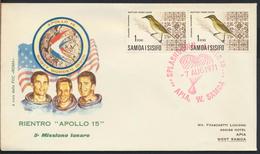 °°° SAMOA I SISIFO - FIRST DAY APOLLO 15 - 1971 °°° - Samoa