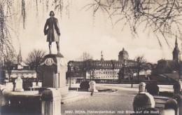 Switzerland Bern Hallerdenkmal mit Blick auf die Stadt Photo