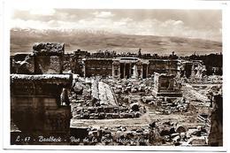 LIBAN - BAALBECK - Vue De La Cour Rectangulaire - Liban