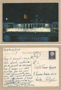 BELGIQUE Carte Postale. BRUXELLES / BRUSSEL / EXPO 1958 / PLACE DE BELGIQUE / ATOMIUM Timbre-poste Reine Juliana 20 C. - Exposiciones Universales