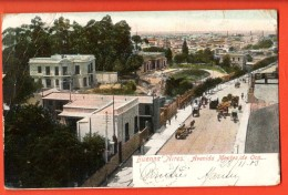 IBT-01  Buenos Aires Avenida Montes De Oca. Used In 1905.Pioneer. Attention : Petit Pli Non Visible Sur Le Scan - Argentine