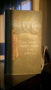 Ancien Album Cartes Postales 1900 Vide Format 21x 37 Cm Publicitaire Offert Par La Maison Montet Frères à Sa Clientèle - Supplies And Equipment