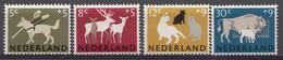 Pays-Bas 1964  Mi. Nr: 818-821 Sommermarken  Neuf Sans Charniere / MNH / Postfris - 1949-1980 (Juliana)