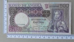ANGOLA 500 ESCUDOS 1973       - (Nº18288) - Angola