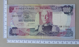 ANGOLA 1000 ESCUDOS 1972       - (Nº18291) - Angola