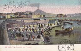 Napoli Via Caracciolo Con Pescatori (pk34742) - Napoli